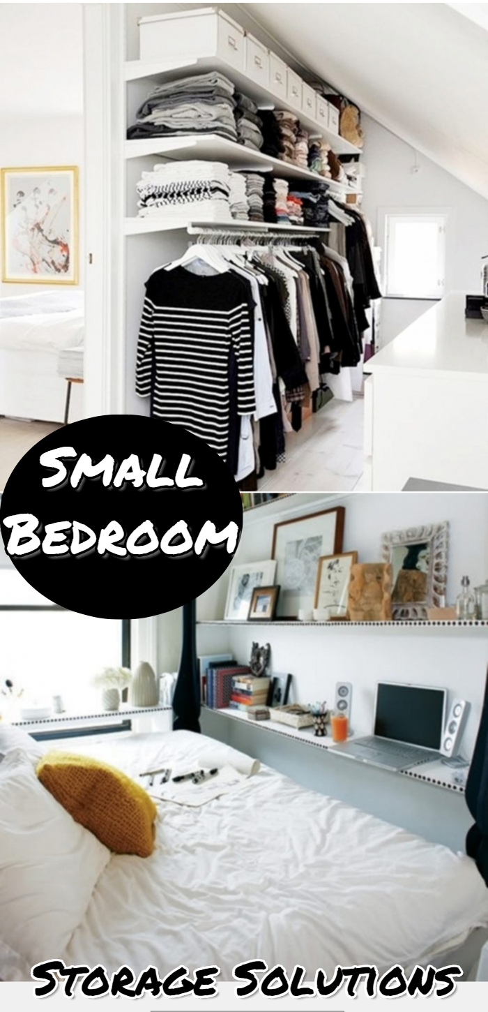 38+ Creative Storage Solutions for Small Spaces (Awesome ... on Cheap Bedroom Ideas For Small Rooms  id=20858
