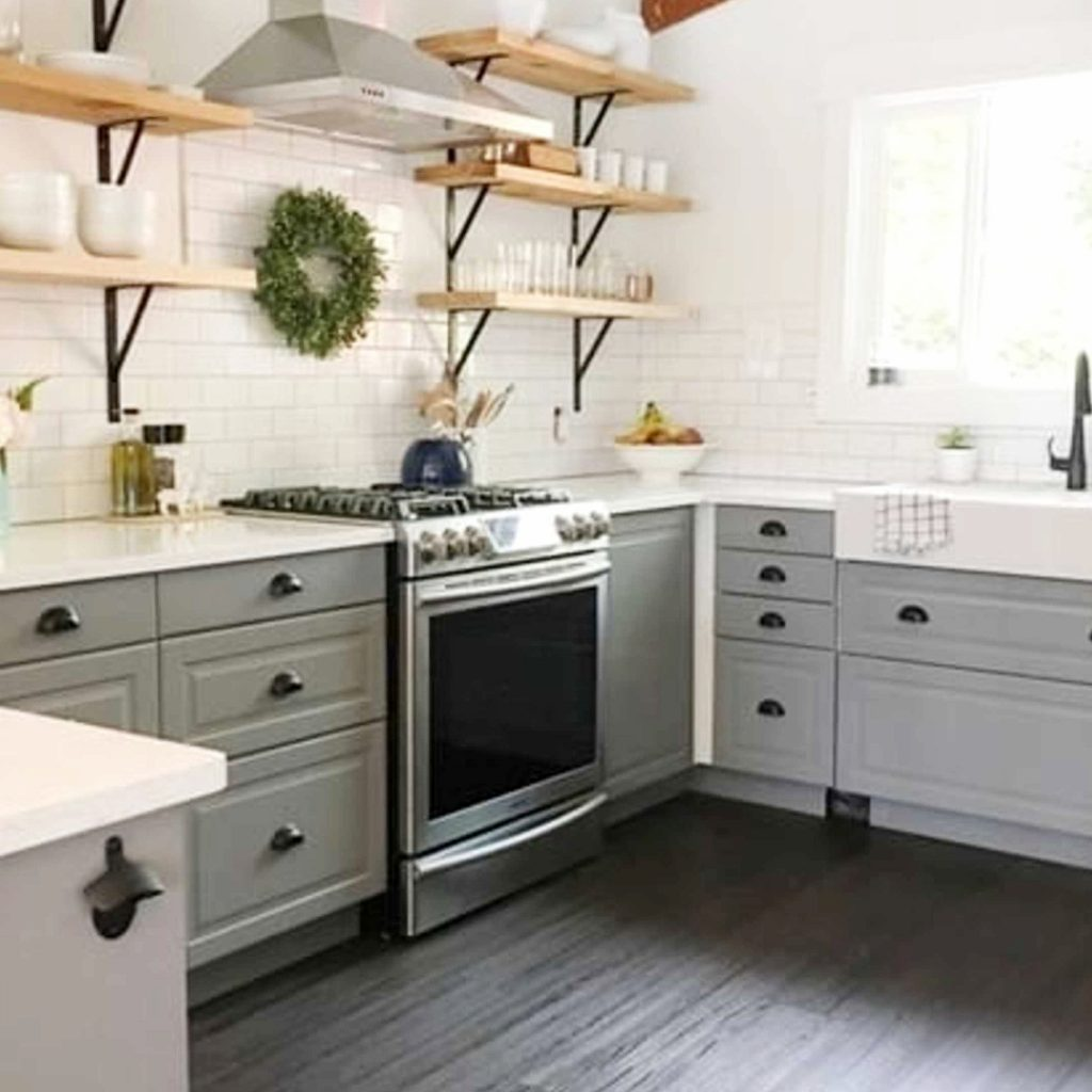 Farmhouse Kitchen Ideas On A Budget PICTURES For March 2019