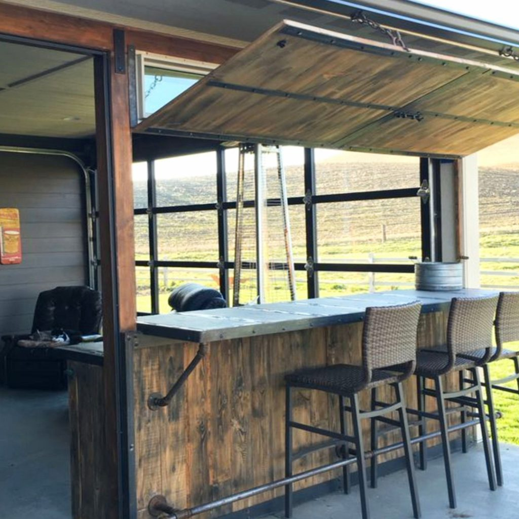 Man Cave Ideas - Garage Man Cave Ideas on a Budget ... on Man Cave Patio Ideas  id=34676