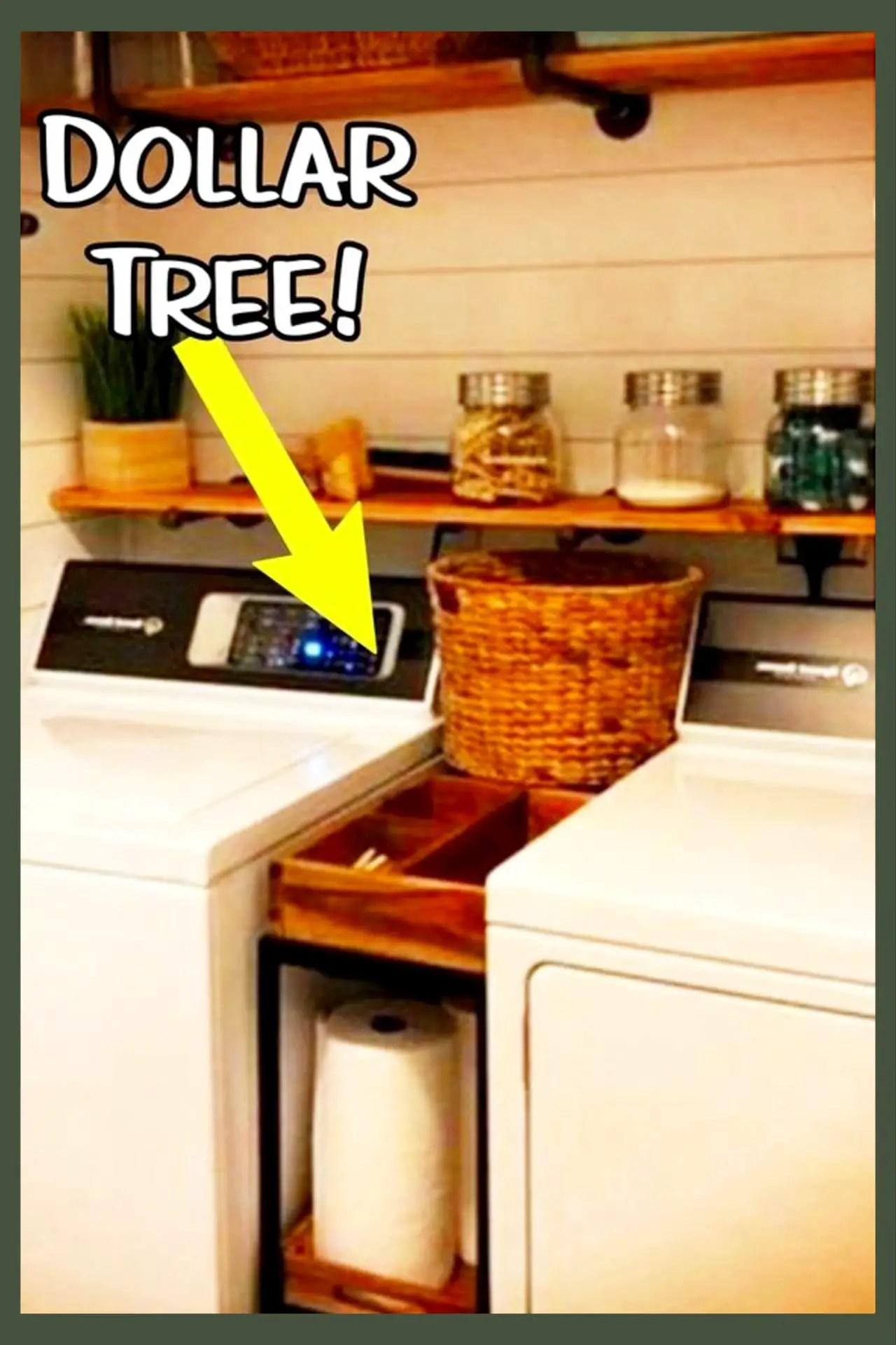 Small Laundry Room Ideas - Space Saving Ideas for Tiny ... on Small Laundry Room Organization Ideas  id=97738