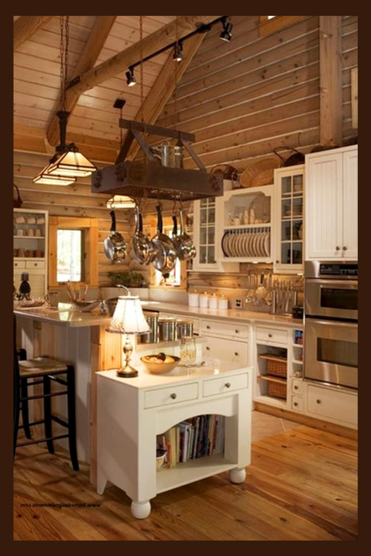 Farmhouse Kitchen Ideas & PICTURES of Country Farmhouse ... on Rustic:mophcifcrpe= Cottage Kitchen Ideas  id=73649