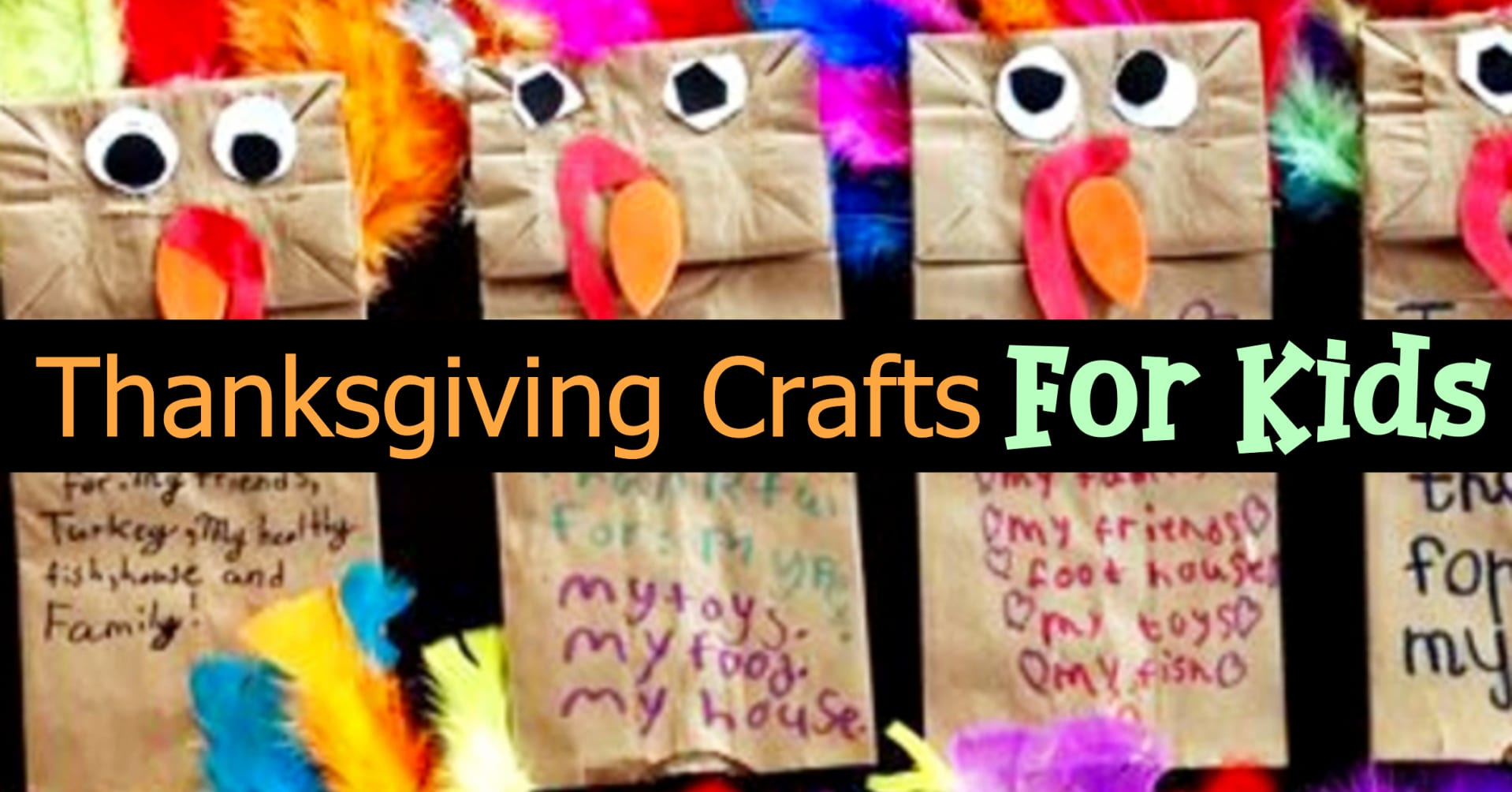 Thanksgiving Crafts For Kids Easy Preschool Toddler Amp Pre