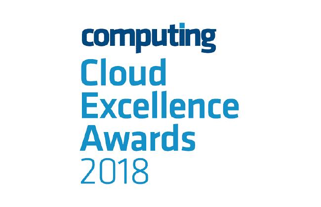 Cloud computing awards logo