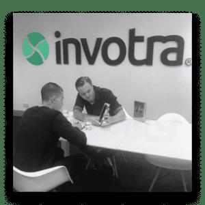 Invotra staff sharing ideas