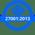 ISO 27001:2013 logo