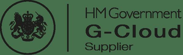 H M Government G-Cloud Supplier logo