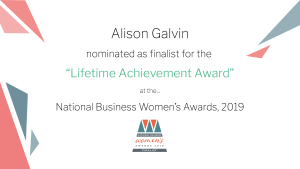 Alison national business womens awards