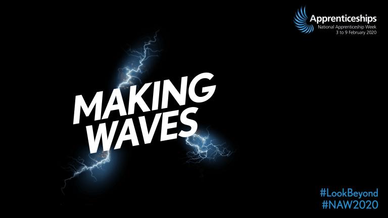 NAW 2020 Look Beyond Making Waves logo