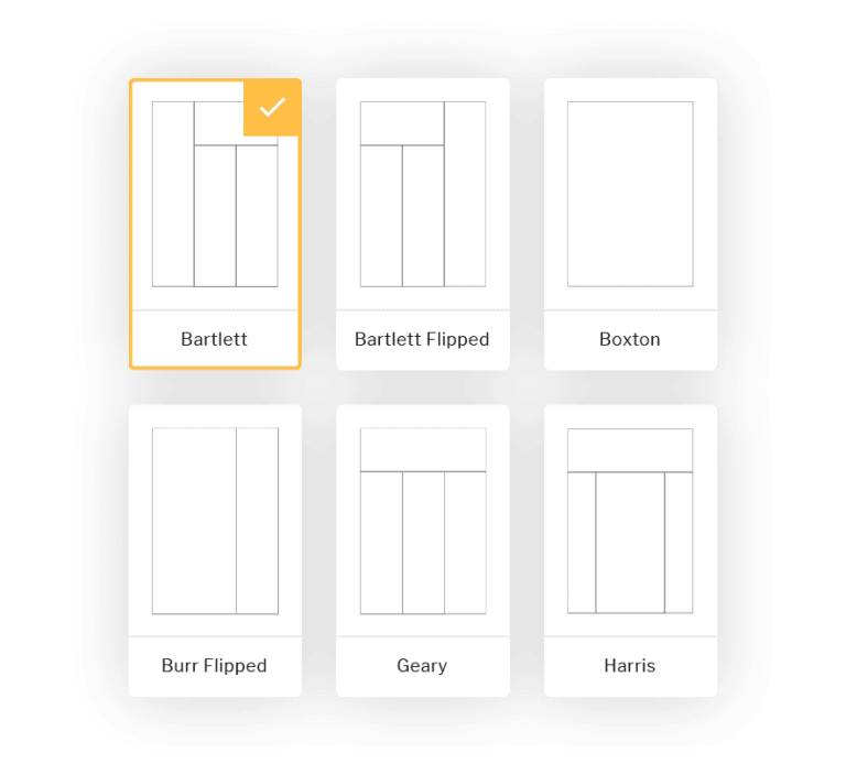 Intranet design - layouts