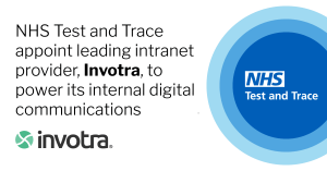 NHS Test and Trace appoint leading intranet provider, invotra, to power its internal digital communications