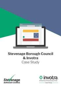 Stevenage case study front cover