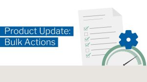 Product update-Bulk Actions