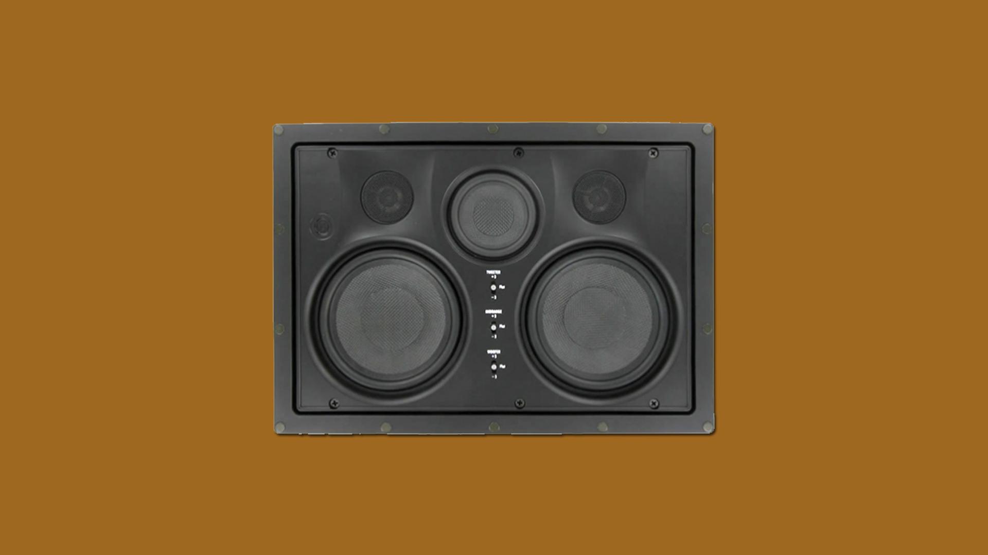 InwallTech Center Channel Speakers HD525 1LCR 1