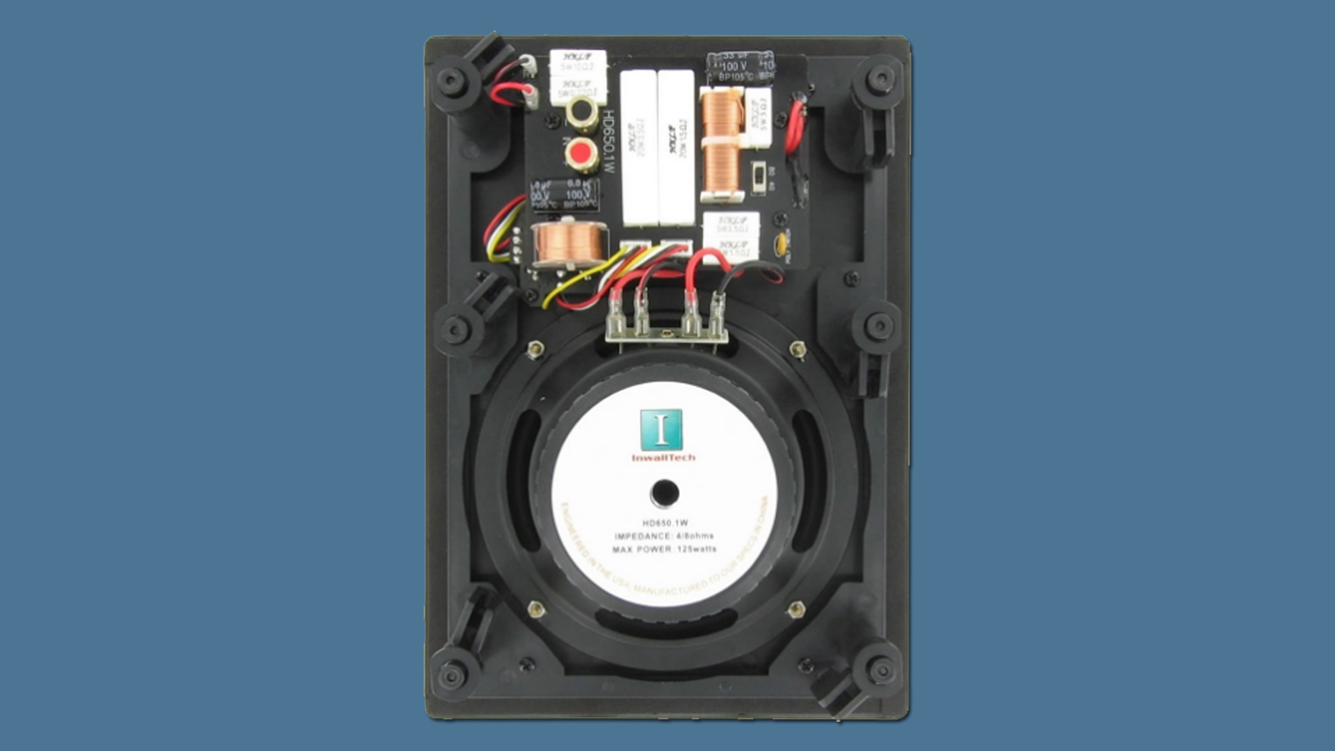 InwallTech In-wall Speakers HD650 2W 4