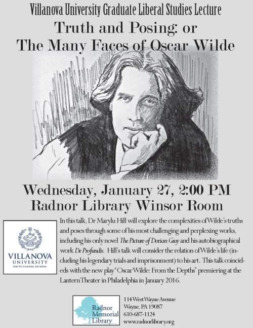 A Villanova University Graduate Liberal Studies lecture on ...