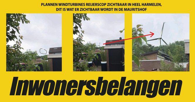 windmolens Reijerscop zichtbaar in Harmelen