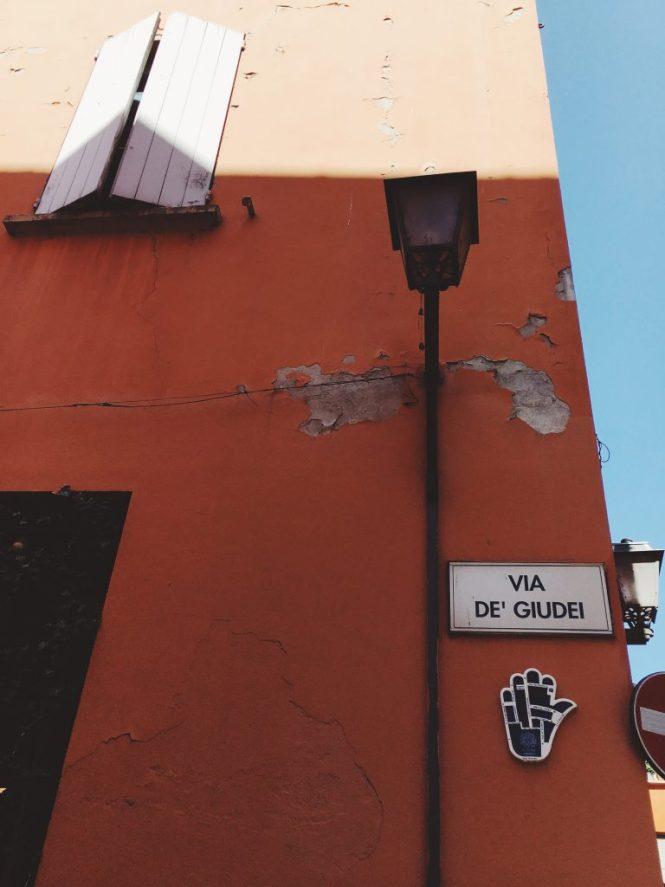 Quartiere ebraico Bologna