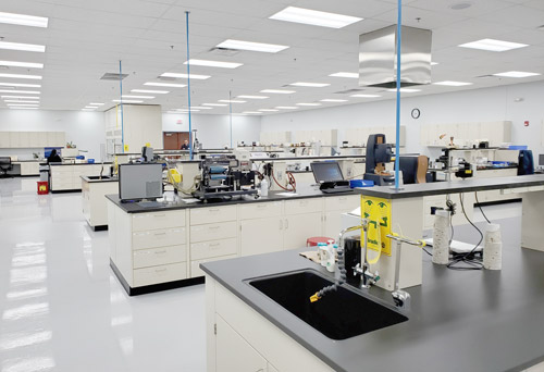 West Chicago Facility Lab