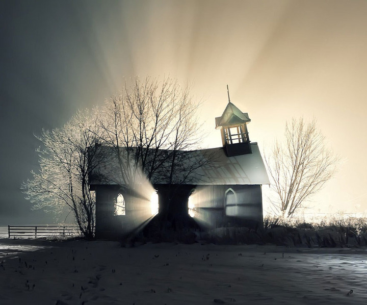 Image result for creepy new england church