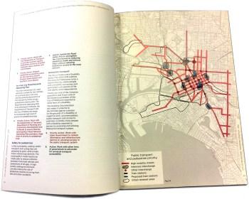 City of Melbourne public transport booklet image