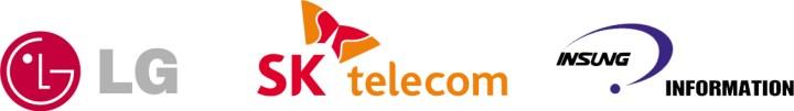 LG, SK Telecom, Insung Info logo