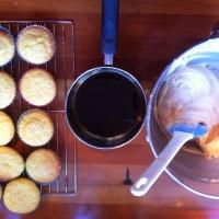 Tiramisu cupcake delights