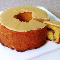 A Sour Cream Coffee Cake (or the cake with two tops)