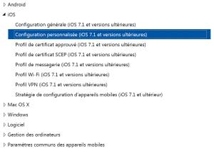 Déploy IOS Wifi Profiles