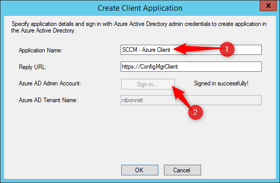 Co-management create application
