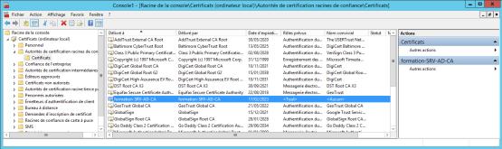 Download certificates