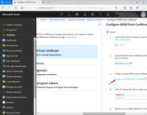 Renew IOS Certificate. Insert on MDM