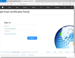 Connect to Apple platform