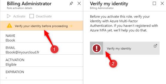 Verify my identity