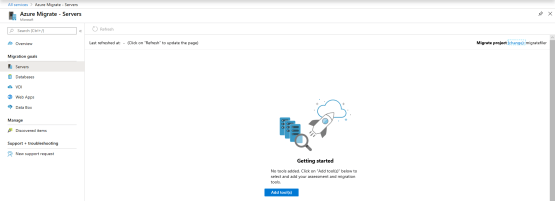 Azure Migrate - Add tools