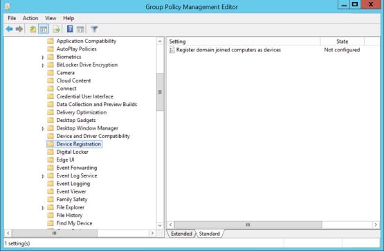 Configure Device registration