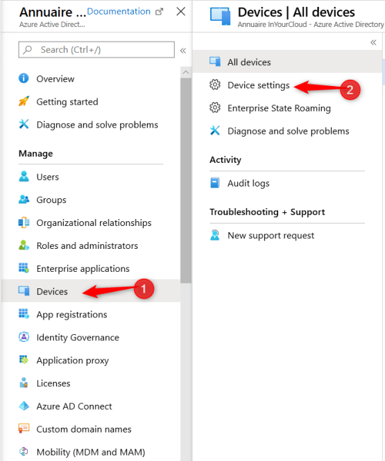 Implement AutoPilot - Configure Azure AD