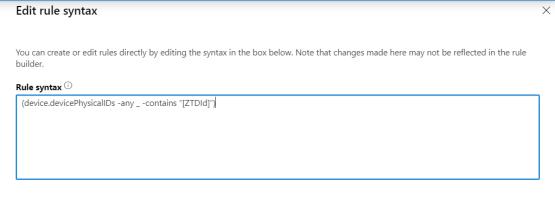 Enter Syntax