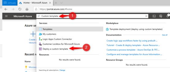 Autoscale on Azure - Create Custom Template