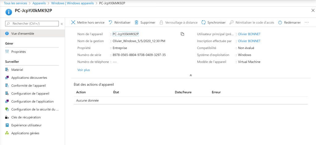 Autopilot and Hybrid AD Join - Workstation is joined at Microsoft Intune