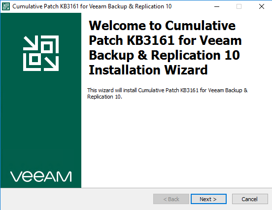Wizard for setup patch