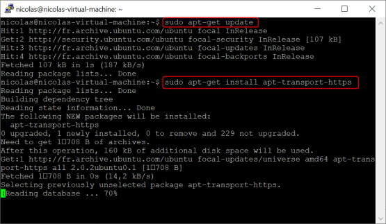 Microsoft tunnel - install linux package