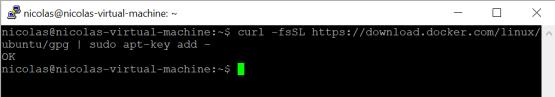 Microsoft tunnel -Docker's official GPG key