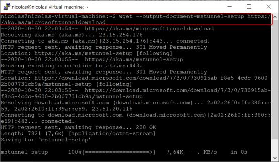 Download script for install Microsoft Tunnel
