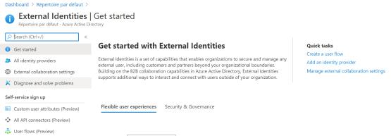 Configure external collaboration settings