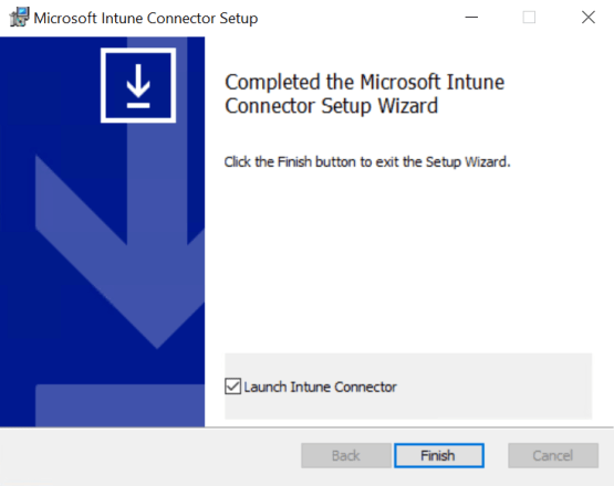 Install connector