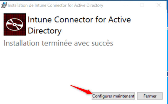 Configure now the connector