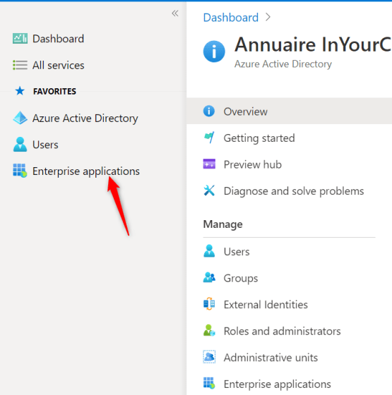 Add Enterprise application