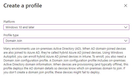 Create Domain Join VPN
