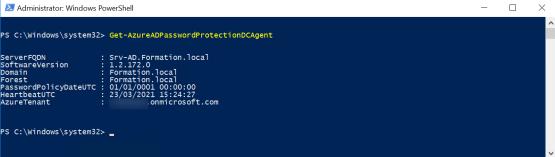 verify agent configuration