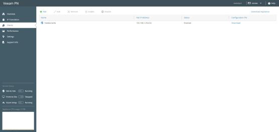 Download configureation file